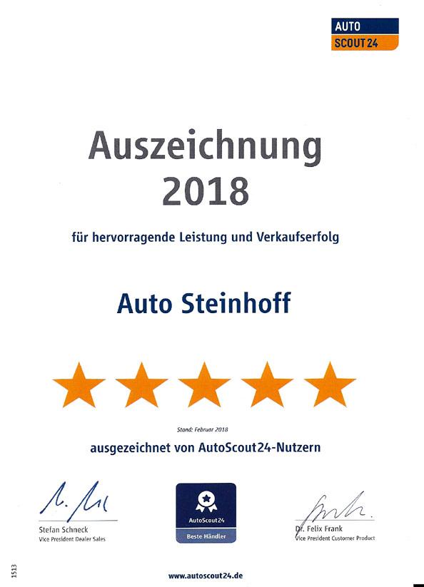 Auto Steinhoff Südkirchen bei Autoscout