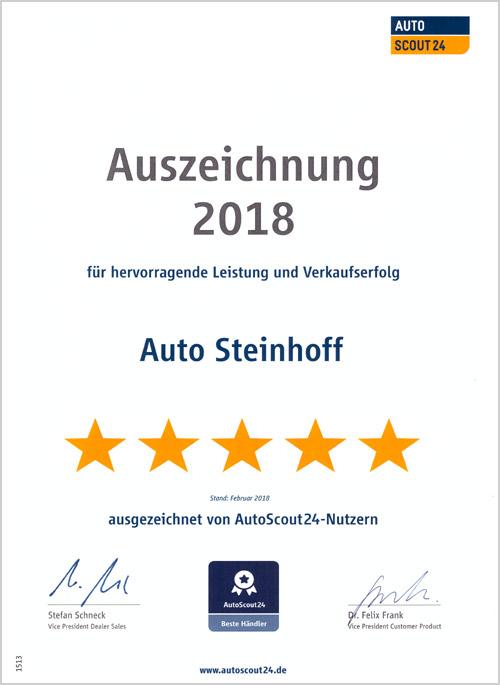 Auto Steinhoff Südkirchen - Autoscout 2018
