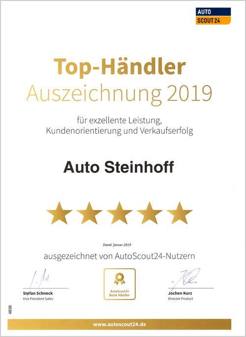 Auto Steinhoff Südkirchen - Autoscout 2019