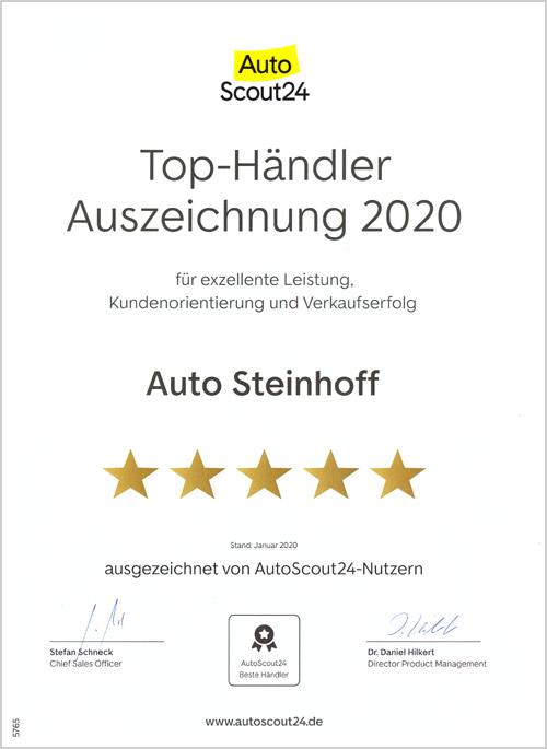 Auto Steinhoff Südkirchen - Autoscout 2020