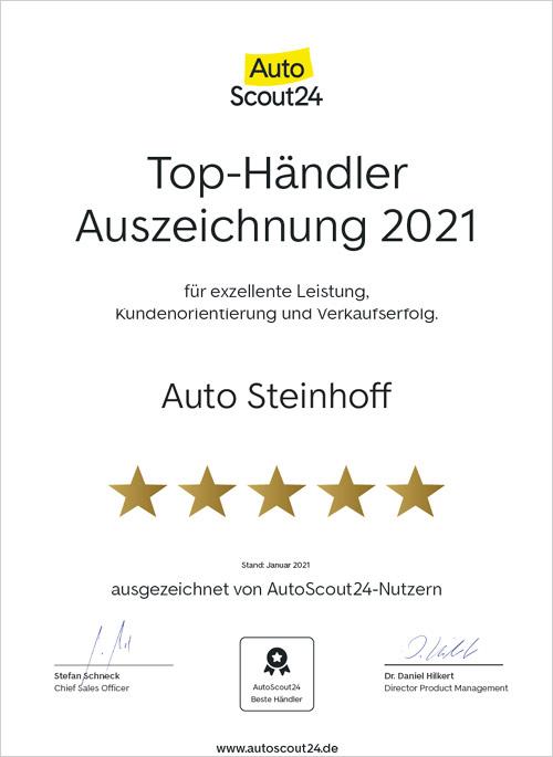 Auto Steinhoff Südkirchen - Autoscout 2021